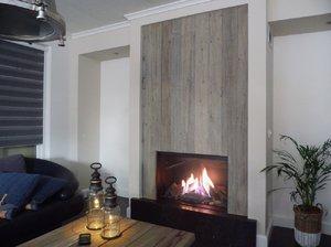 Gesloten gashaard Faber Matrix 800/500 I met barnwood plateau