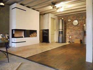 Showroom houten vloeren
